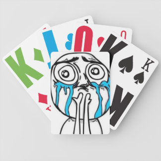 9GAG face playing cards
