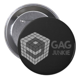 9gag junkie logo in cube buttons