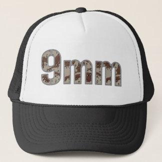 9mm ammo ammunition desert camo trucker hat