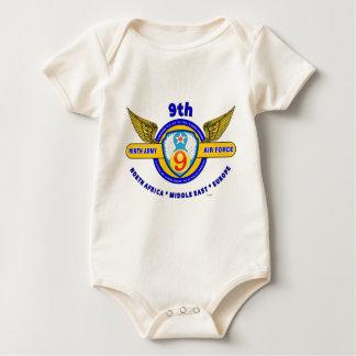 "9TH ARMY AIR FORCE ""ARMY AIR CORPS"" WW II BABY CREEPER"