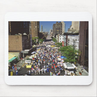 9th Ave Street Fair NYC Mouse Pads