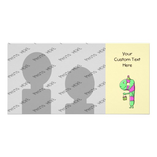 9th Birthday. Bright and Colorful Cartoon. Picture Card