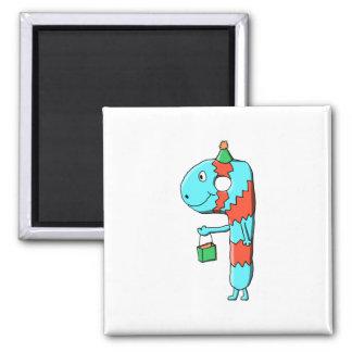 9th Birthday Cartoon Refrigerator Magnet