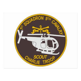 9th Cavalry 1st Squadron Postcards