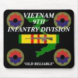 9th Infantry Vietnam Mousepad 2/b