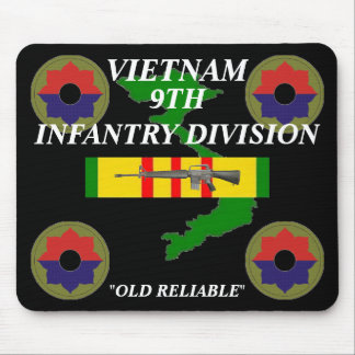 9th Infantry Vietnam Mousepad 2/b