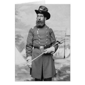 9th Massachusetts Officer, 1860s Greeting Card