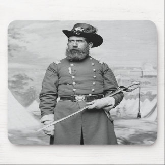 9th Massachusetts Officer, 1860s Mouse Pads