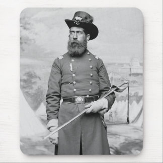 9th Massachusetts Officer, 1860s Mouse Pad