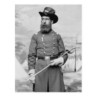 9th Massachusetts Officer, 1860s Postcard