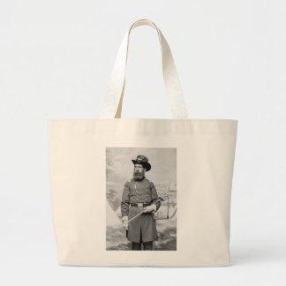 9th Massachusetts Officer, 1860s Jumbo Tote Bag