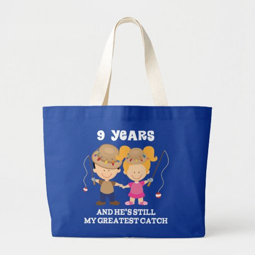 Funny Wedding Gift Bag Ideas : 9th Wedding Anniversary Funny Gift For Her Tote Bag Zazzle