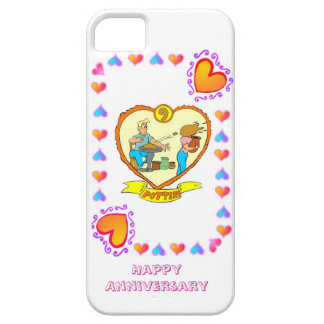 9th wedding anniversary, pottery iPhone 5 covers