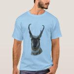 A0019 Pronghorn Antelope head T-Shirt