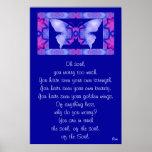A001 Oh Soul - Butterfly Frameable Print 1