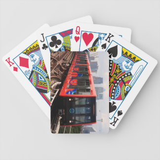 A006_01: London, Train to Woolwich - Playing Cards