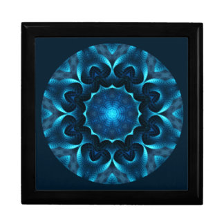A01. Midnight Blue Mandala Tiled Box.1 Gift Box
