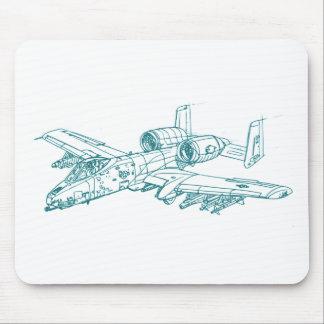 A10 Thunderbolt 2 Mousepad