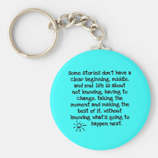 a1159f stories life quotes adventure positive key ring