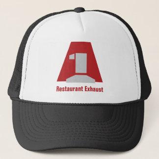 A1LogoLarge, Restaurant Exhaust Trucker Hat