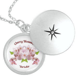 A21 Cherry Blossom Bride Locket