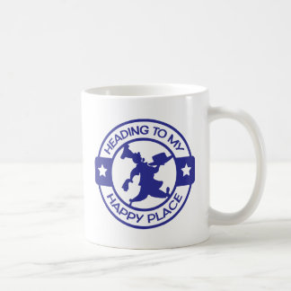 A259 happy place pastry chef blue basic white mug