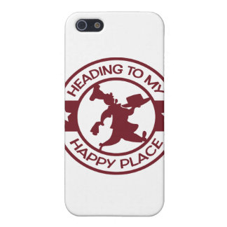 A259 happy place pastry chef burgundy covers for iPhone 5
