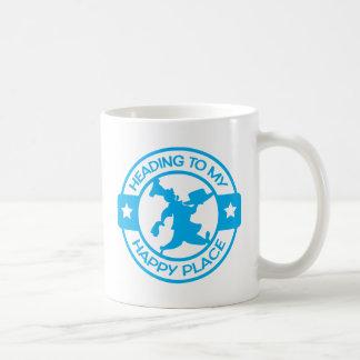 A259 happy place pastry chef light blue basic white mug