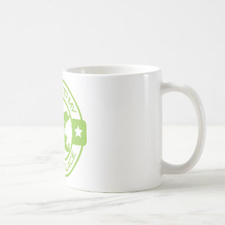 A259 happy place pastry chef lime green basic white mug