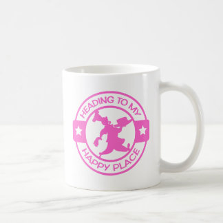 A259 happy place pastry chef soft pink classic white coffee mug