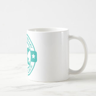 A259 happy place pastry chef teal basic white mug