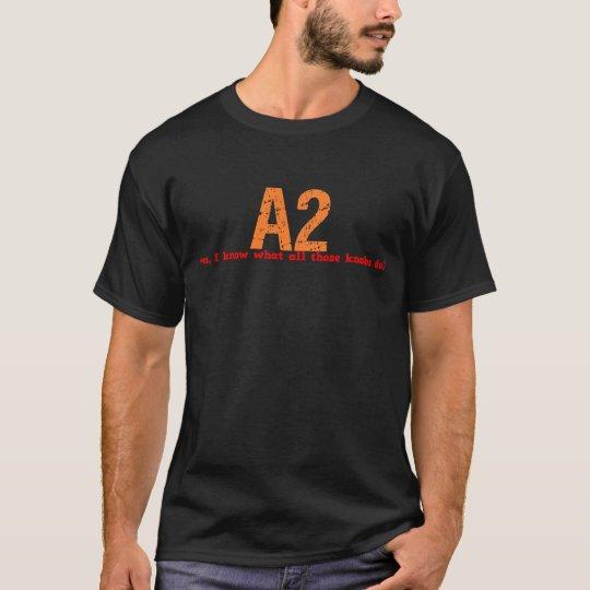 A2 - Job Description Shirt