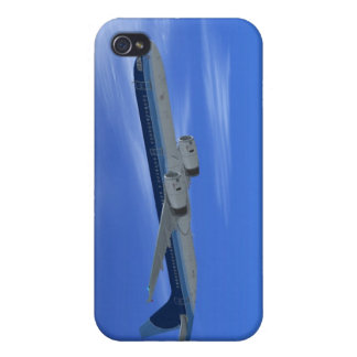 A321 Jet Airliner Aircraft iPhone 4 Covers