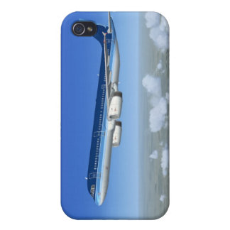 A321 Jet Airliner Aircraft iPhone 4/4S Covers
