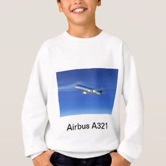 A321 Jet Airliner Aircraft Sweatshirt