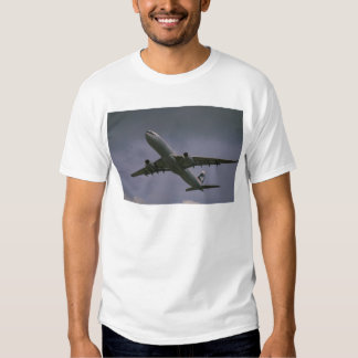 A330 airbus, Cathay Pacific airliner Tee Shirts