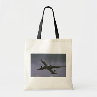 A330 airbus, Cathay Pacific airliner Tote Bag