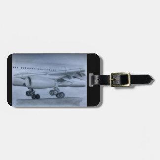 A330 Landing Luggage Tag