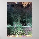 A3 Dark Tree Print