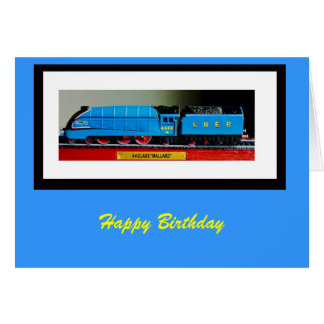 a4 mallard rb, Happy Birthday Card