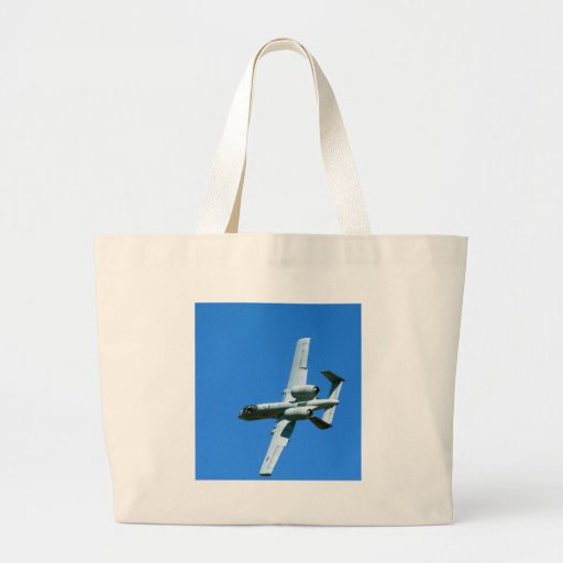 A-10 LIGHTNING BOLT TOTE BAGS