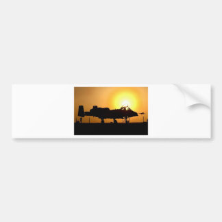 A-10 SUNRISE BUMPER STICKER