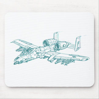 A-10 Thunderbolt 2 Mouse Pad