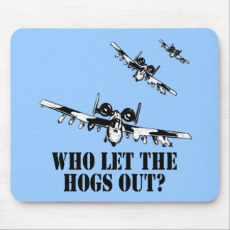 A-10 Warthog Mouse Mat