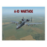 A-10 WARTHOG POSTERS