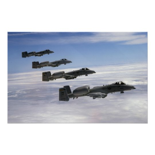 A-10 Warthogs Poster