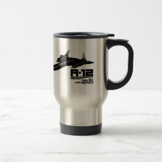 A-12 STAINLESS STEEL TRAVEL MUG