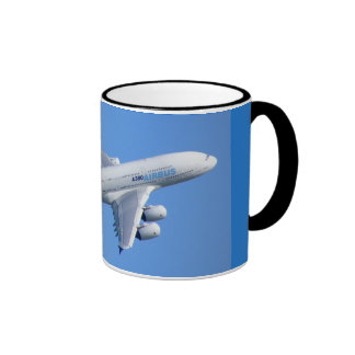 a-380 AIRLINER Coffee Mugs