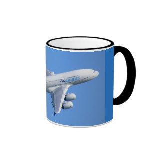 a-380 AIRLINER Ringer Mug