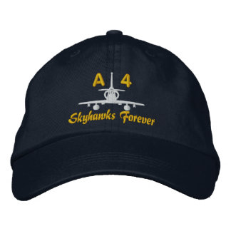 A-4 Golf Hat Embroidered Cap